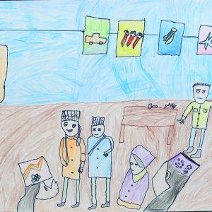 Very beautiful view of school life of Pakistan