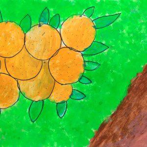 Orange is the cloour of sun