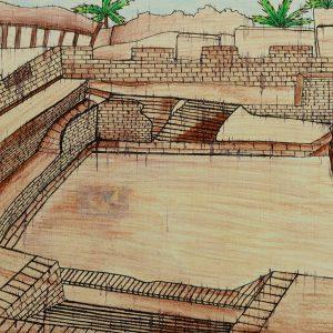 Famous Bath - Mohenjodaro