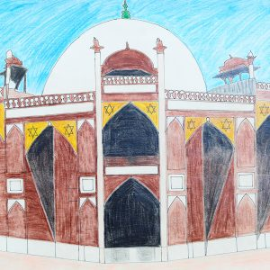 The artistic voyage will take you in architectural tour of mosque.