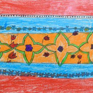 A unique Art describing Sindh province